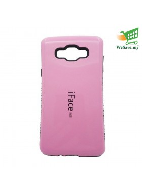 iFace Mall Samsung Galaxy A5 Hard Case Pink Colour (21504536)