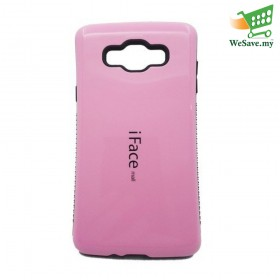 iFace Mall Samsung Galaxy A7 Hard Case Pink Colour