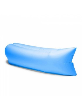 Portable Outdoor Camping Beach Air Bag Sofa Bed Blue