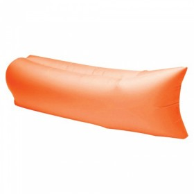 Portable Outdoor Camping Beach Air Bag Sofa Bed Orange