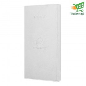 Sony 10000mAh Power Bank CP-F10L Portable Charger / USB Power Supply Silver Colour (Original)