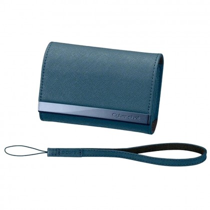 Sony Camera Case Soft Leather Carrying Case LCS-CSVA /L Blue Colour