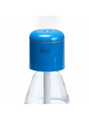 Portable Bottle Cap  Humidifier with USB Blue