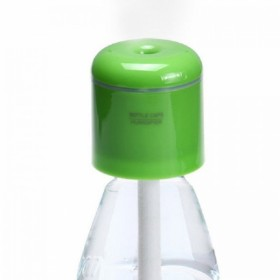 Portable Bottle Cap  Humidifier with USB Green