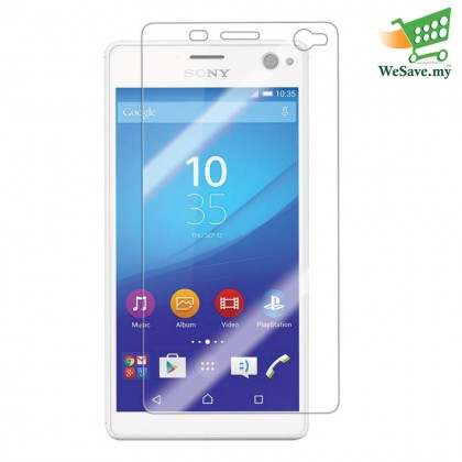 Sony Xperia C4 Clear Transparent Half Cover Screen Protector