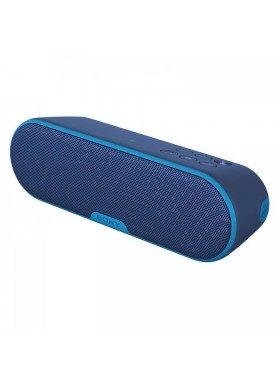 Display* Sony SRS-XB2/L Portable Wireless Speaker With Bluetooth And Waterproof SRS-XB2 (Original) from Sony Malaysia - Blue Colour