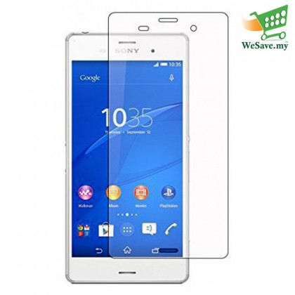 Sony Xperia Z3 Clear Transparent Half Cover Screen Protector