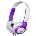 *Clearance* Sony MDR-XB200/V Headphone MDR-XB200 (Original) from Sony Malaysia - Violet Color