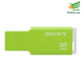 Sony 32GB USM-32GM MV Keychain Portugal USB Flash Pen Drive Green Colour (Original)