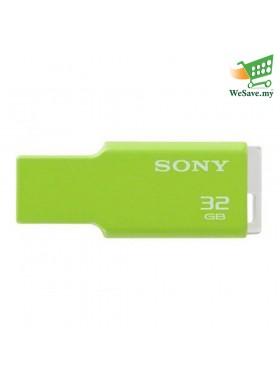 Sony 32GB USM-32GM MV Keychain Portugal USB Flash Pen Drive Green Colour (Original)