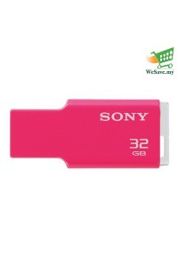 Sony 32GB USM-32GM MV Keychain France USB Flash Pen Drive Pink Colour (Original)