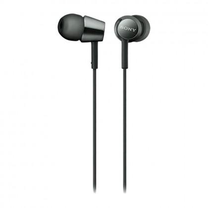 Sony MDR-EX155 Black In-Ear Headphones MDR-EX155/B (Original) from Sony Malaysia