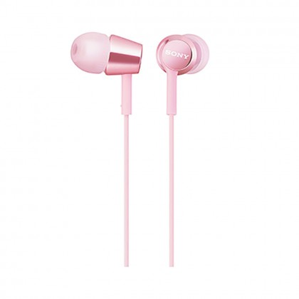 Sony MDR-EX155AP Pink In-Ear Headphones with Mic MDR-EX155AP/P (Original) from Sony Malaysia