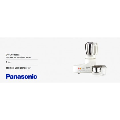 Panasonic MX-AC210S Mixer Grinder (Original) 1 Years Warranty By Panasonic Malaysia