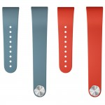 Sony SmartBand Talk Wrist Strap SWR310 (Red + Blue) Twin pack Size M/L (Original)