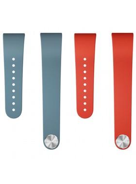 Sony SmartBand Talk Wrist Strap SWR310 (Red + Blue) Twin pack Size M/L (Original)