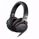 Sony MDR-1A Black Stereo Hi Res Headphones High-Resolution Audio (Original) by Sony Malaysia