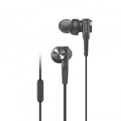 Sony MDR-XB55AP Black EXTRA BASS™ In-Ear Headphones MDR-XB55AP/B (Original) from Sony Malaysia