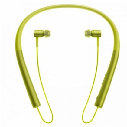 Sony MDR-EX750BT/Y h.ear in Wireless Headphones High-Resolution Audio capability with Easy Bluetooth connectivity with NFC One-touch MDR-EX750BT (Original) from Sony Malaysia - Yellow Colour