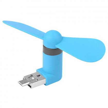 Portable Mini USB Fan For Android Smartphone / Device (Original)