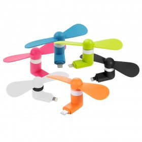 Portable Mini Fan For iPhone Smartphone / Devices (Original)