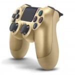 Sony Playstation PS4 Controller Dualshock 4 Gold Colour CUH-ZCT2G/N (Original) - 1 Year Warranty By Sony Malaysia