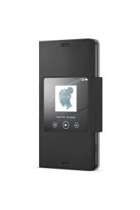 Sony SCR26/B Xperia Z3 Compact Smart Window Flip Cover Case SCR26 Black Colour (Original)