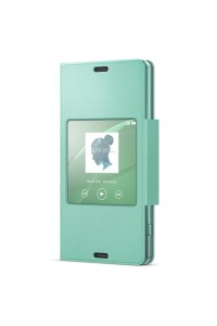 Sony SCR26/G Xperia Z3 Compact Smart Window Flip Cover Case SCR26 Green Colour (Original)