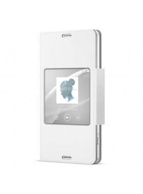 Sony SCR26/W Xperia Z3 Compact Smart Window Flip Cover Case SCR26 White Colour (Original)