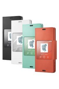 Sony SCR26 Xperia Z3 Compact Smart Window Flip Cover Case (Original)