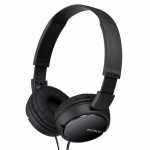 Sony MDR-ZX110 Black On-Ear Stereo Headphone MDR-ZX110/B (Original) by Sony Malaysia