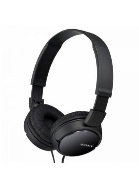 Sony MDR-ZX110 Black On-Ear Stereo Headphone MDR-ZX110/B (Original) by Sony Malaysia
