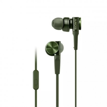 Sony MDR-XB75AP Army Green EXTRA BASS™ In-Ear Headphones MDR-XB75AP/G (Original) from Sony Malaysia