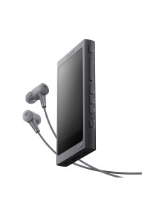 Sony NW-A46 Grayish Black MP3 Player Walkman NW-A46HN/B (Original) from Sony Malaysia
