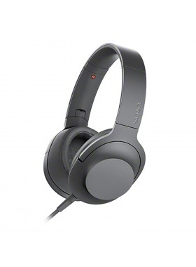 Sony MDR-H600A Grayish Black h.ear on 2 Headphones MDR-H600A/B (Original) from Sony Malaysia