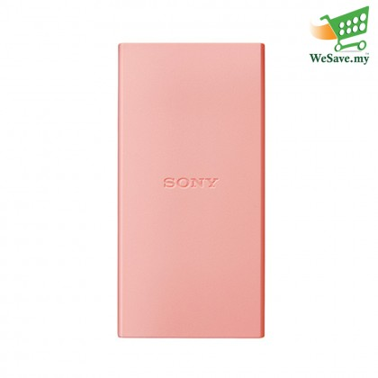 Sony CP-V5B 5000mAh Portable Charger / Power Bank Pink Colour (Original) By Sony Malaysia
