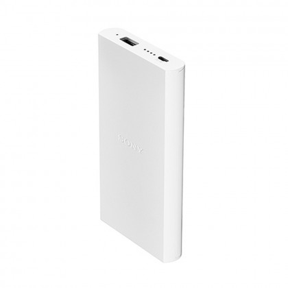 Sony CP-V10B 10000mAh Portable Charger / Power Bank White Colour (Original) By Sony Malaysia