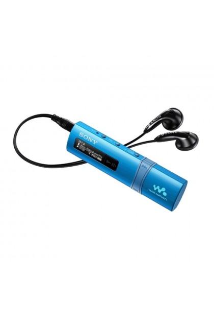 *Buy 1 Free 1!* Sony NWZ-B183F/L MP3 Player 4GB Walkman NWZ-B183F (Original) from Sony Malaysia - Blue Colour (FREE MDR-EX15AP/W)