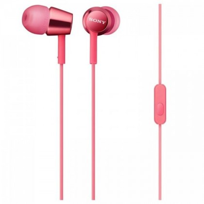 Sony MDR-EX150AP/P Earphone / Headphone MDR-EX150AP (Original) by Sony Malaysia - Pink Colour