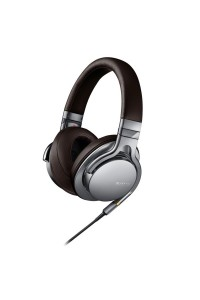 Sony MDR-1A Silver Stereo Hi Res Headphones High-Resolution Audio (Original) by Sony Malaysia