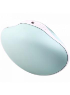 Shell Warm Hand & Mobile Power & LED Flashlight 4000 mAh Blue Colour