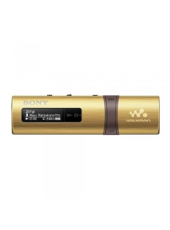 *Buy 1 Free 2!* Sony NWZ-B183F/N MP3 Player 4GB Walkman NWZ-B183F (Original) from Sony Malaysia - Gold Colour (FREE Notepad & Cable Organizer)