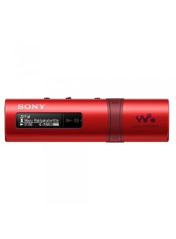 *Buy 1 Free 2!* Sony NWZ-B183F/R MP3 Player 4GB Walkman NWZ-B183F (Original) by Sony Malaysia - Red Colour (FREE Notepad & Cable Organizer)