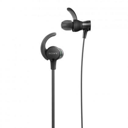 Sony MDR-XB510AS Black EXTRA BASS™ Sports In-Ear Headphones MDR-XB510AS/B (Original) from Sony Malaysia
