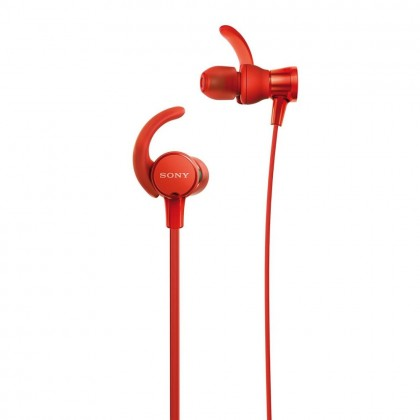 Sony MDR-XB510AS Red EXTRA BASS™ Sports In-Ear Headphones MDR-XB510AS/R (Original) from Sony Malaysia