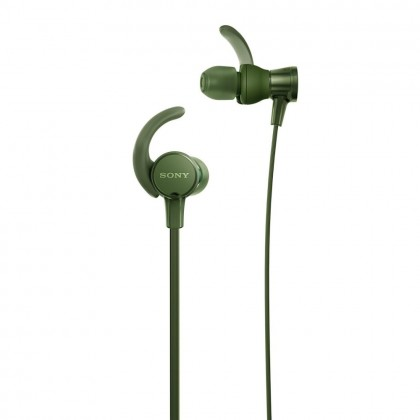 Sony MDR-XB510AS Army Green EXTRA BASS™ Sports In-Ear Headphones MDR-XB510AS/G (Original) from Sony Malaysia