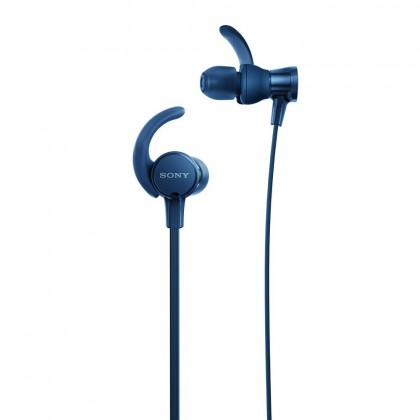 Sony MDR-XB510AS Blue EXTRA BASS™ Sports In-Ear Headphones MDR-XB510AS/L (Original) from Sony Malaysia