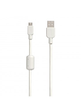 Sony CP-AB150 Micro USB Charging And Transfer Cable 1.5 meter (USB A - Micro USB) White Colour (Original)