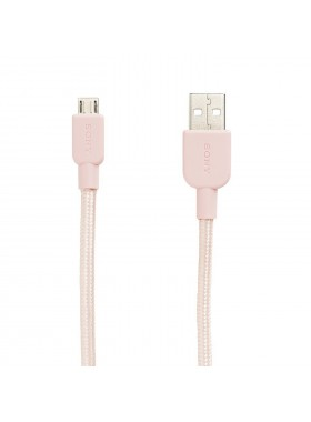 Sony CP-ABP150 Premium USB-A to Micro USB Charging Cable 1.5 Meter Pink Colour (Original)