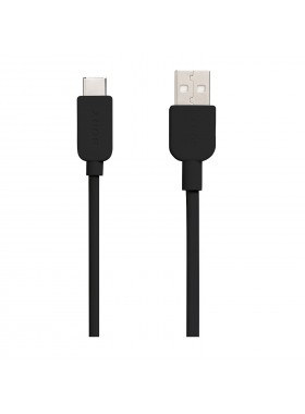 Sony CP-AC150 USB-A to USB-C Charging And Transfer Cable 1.5 Meter Black Colour (Original)